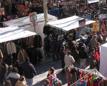 Mercados tradicionales en León o rastros